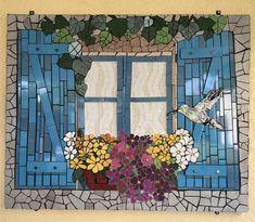 Mosaic Artwork, Mosaic Wall Art, Mosaic Glass, Mosaic Garden Art, Mosaic Flower Pots, Mosaic Crafts, Mosaic Projects, Vitromosaico Ideas, Recycled Garden Art