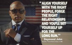 35 Motivating Daymond John Quotes - Daymond John is an American businessman, investor, author, motivational speaker and television personality. Daymond John is the founder and CEO of FuBu and is an investor on the TV show 'Shark Tank' Here are some of Daymond John's quotes:  35 Motivational Daymond John... | http://wp.me/p5qhzU-bRZ | #productivity #selfimprovement