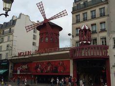 Moulin Rouge #france #paris #travel #moulinrouge #cabaret #cancan