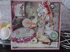 Carte Vintage Nostalgie Shabby Chic Couture