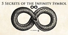 5 Secrets of the Infinity Symbol ∞ Skull Tattoo Design, Tribal Tattoo Designs, Geometric Tattoos, Tattoos With Kids Names, How To Wear Rings, Infinity Tattoos, Occult Art, Palmistry, Witchcraft