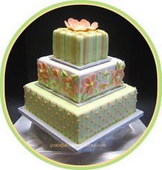 Summer Wedding Cake, via Flickr.