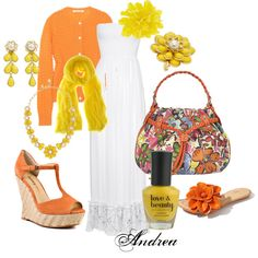 Citrus Days, created by andreahaywood on Polyvore