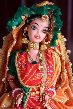 Roopvati Rajastani Indian Barbie