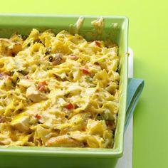 cajun chicken pasta bake: dinner tonight, super fast, and hopefully super yummy!