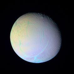 Colorful Enceladus