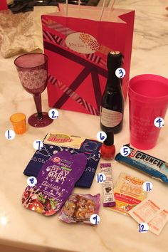 DIY: Bachelorette Party Gift Bags - perfect for your guests!