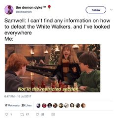 """Everyone Made The Same """"Harry Potter"""" Joke During """"Game Of Thrones"""" And, Frankly, They're All Good"""