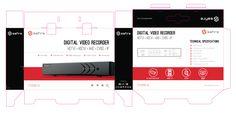 Packaging Digital Video Recorder, Safire, CCTV