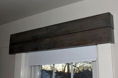 While I Linger: Wood Window Valances