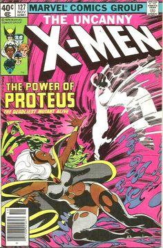 Uncanny X-Men 127 Marvel 1979 NM- Wolverine Phoenix Colossus Proteus X Men Marvel, Marvel Comics, Marvel Comic Books, Marvel Characters, Comic Books Art, Marvel Heroes, Marvel Fan, Book Characters, Comic Book Pages