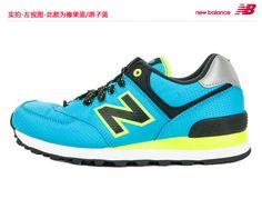 2013 nuevos zapatos NewBalance / zapatos auténticos retro de los zapatos para correr WL574WBG rosa