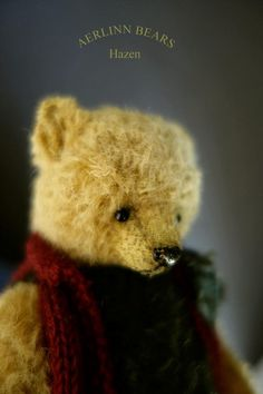 Hazen One Of A Kind Mohair Artist Teddy Bear by door aerlinnbears