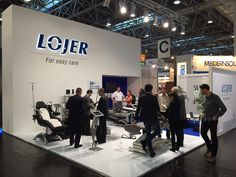 Trade fairs play an important role in Lojer's export sales and networking