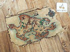 Tuto gratuit en français fabriquer une carte au trésor réaliste DIY