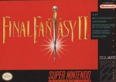 Final Fantasy II for Super Nintendo was one of the first games I actually finished. It still holds up today as one of the very best turn-based rpgs ever. From the best friend turned traitor Kain, to the twin magicians who sacrifice their own lives for the sake of the quest. The story has a huge amount of text and a lot of words that aren't used in the average 8 year olds vocabulary. Fun fact : Final Fantasy 2 in the US was actually Final Fantasy 4 in Japan. We've since had the real 2 & 3…