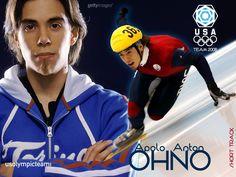 Apolo Anton Ohno is my favorite Winter Olympics athlete. Apolo Ohno, Zombie Music, White Zombie, Go Usa, Roy Orbison, Olympic Athletes, Jane Fonda, Amy Winehouse, Famous Men