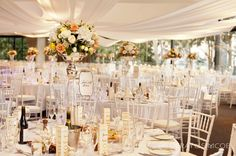 5 lavish wedding reception state reception centre perth gold details tiffany chairs ceiling draping mini moet.jpg