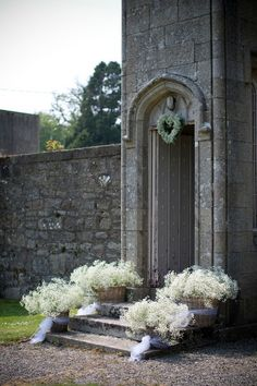 Real Wedding by Peter Rowen Photography in Borris House, Carlow…