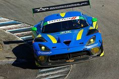Motor'n   Lone Star Racing Finishes 14th in No. 80 ACS Manufacturing Dodge Viper GT3-R at Laguna Seca