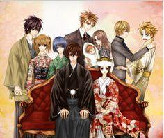 vampire knight family
