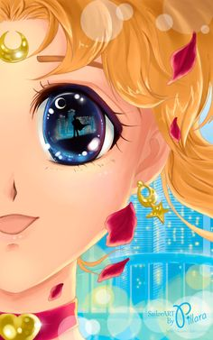 Sailor Moon eye by Pillara