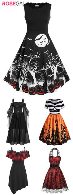 Free shipping over $45, up to 75% off, Rosegal plus size  Halloween Dress dress ideas vintage Halloween dresses | #rosegal #Halloween #womenfashion