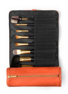 Tory Burch Make Up Brush Roll