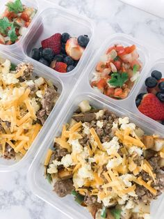 Make-Ahead Breakfast Bowls are bursting with wholesome ingredients to jump start your day. Make a batch as part of your weekly meal prep or as a grab and heat freezer meal. Healthy Breakfast Meal Prep, Egg Recipes For Breakfast, Make Ahead Breakfast, Breakfast Bowls, Breakfast Ideas, Breakfast Burritos, Breakfast Time, Dinner Recipes, Field Meals