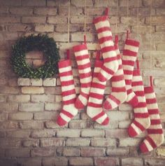 Ideas for how to hang stockings