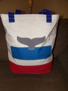 Recyled Sail Cloth Nautical Tote Bags by SecondWindBags on Etsy - REQUEST CUSTOM BAG WITH MY OWN DESIGN