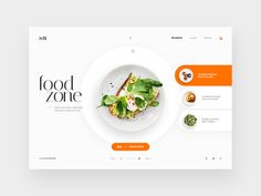 Restaurants Webpage Design Concept designed by Trionn Design. Connect with them on Dribbble; the global community for designers and creative professionals. #webdesign