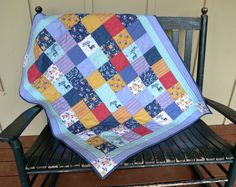 Check out this item in my Etsy shop https://www.etsy.com/listing/453580910/handmade-baby-boy-quilt-baby-quilt