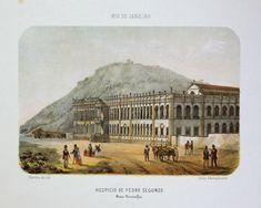 Bertichem – 1856 Hospício de Pedro II na Praia Vermelha