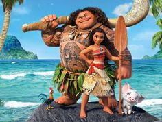 """Today is the exciting release of Disney's Moana on Blu-Ray and Dvd. Disney's Moana labeled """"Pure Disney Magic!"""" is a delightful tale you'll want to watch."""