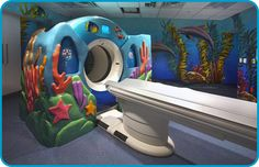 "El Department of Radiology at Miami Children's Hospital está ""debajo del mar"""