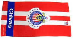 Licensed #Providencia Chivas de Guadalajara Towel New With Tags Never Used Size 30x60 inches
