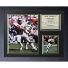 Legends Never Die Ron Jaworski Framed Memorabilia