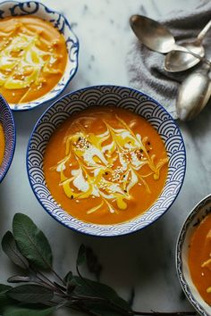 Creamy and vegan ginger carrot bisque recipe from Food 52's vegan cookbook.