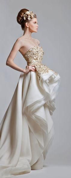 Krikor Jabotian Collection 2013 - Haute couture - http://fr.orientpalms.com/krikor-jabotian-3388