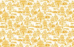 Gold Greyhound Toile ©2010 by Jane Walker fabric by artbyjanewalker on Spoonflower - custom fabric