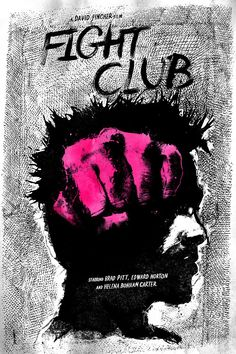 Fight Club by Daniel Norris #movie #poster