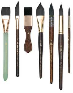 Shop Princeton Neptune Series 4750 Synthetic Squirrel Brushes at Blick. These paint brushes deliver oceans of color and come in a variety of shapes. Watercolour Tutorials, Watercolor Techniques, Painting Techniques, Best Watercolor Brushes, Travel Brushes, Mothers Day Crafts For Kids, Brush Type, Art Brush, Painting Tools