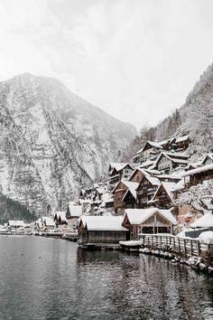 Winter in Halstatt, Austria