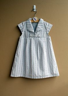 $5.95 PDF Pattern - Hannah Dress for 12M - 5T