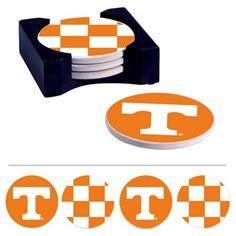 6b724cef1b8c Tennessee Volunteers 4-Pack Absorbent Ceramic Coaster Set