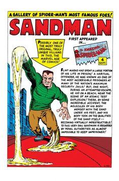 Sandman//Steve Ditko/D - E/ Comic Art Community GALLERY OF COMIC ART