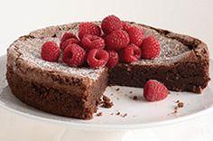 Flourless Chocolate Cake recipe...