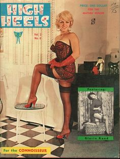 High Heels vol 2 no 6 1963 vintage adult straight magazine collectible
