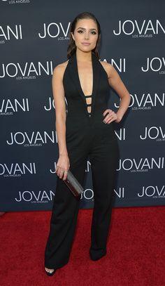 3a2221a306a17 Denim Fashion, Diva Fashion, Star Fashion, Olivia Culpo, Evening Outfits,  Plunging